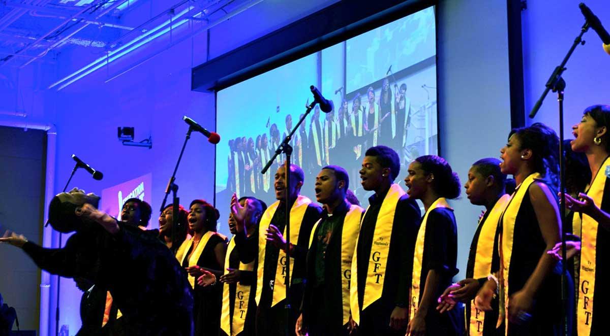 Harlem Choir - opening performance