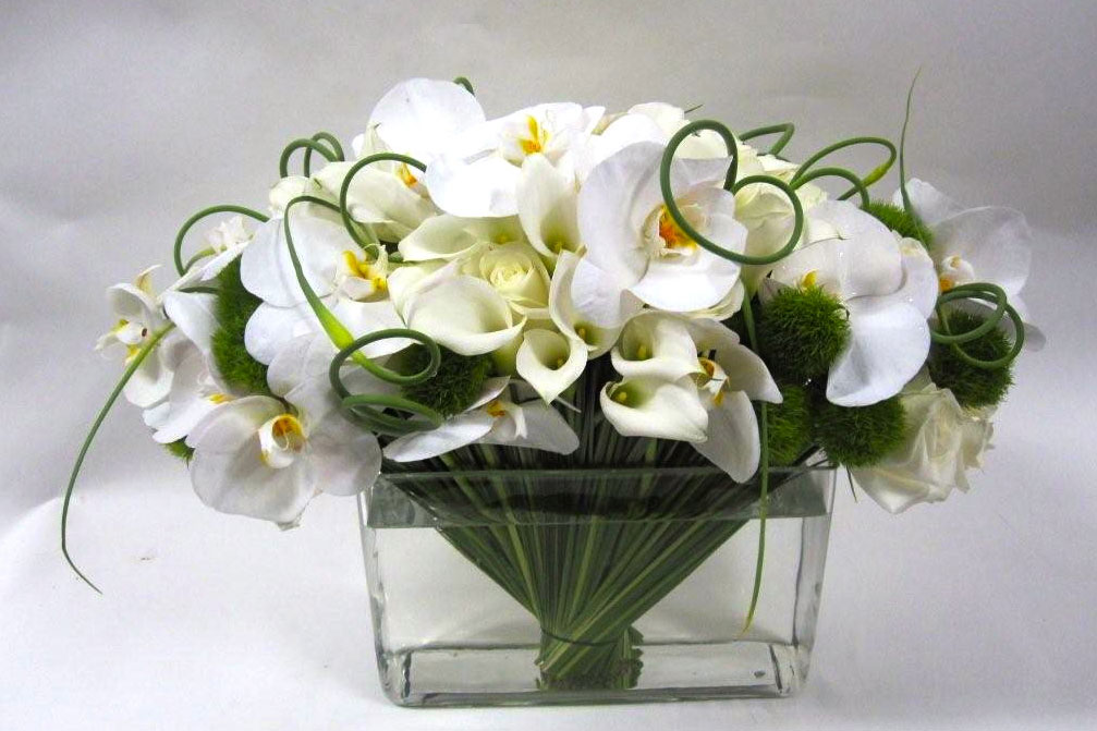 White Floral image