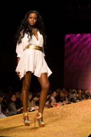 Fashion Week Model, © Stephanie Badini