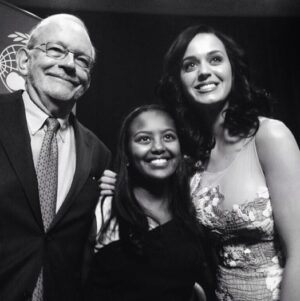 Tony Lake, Hannah and Katy Perry