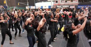 Times Square Dancers