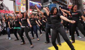 Flashmob Times Square