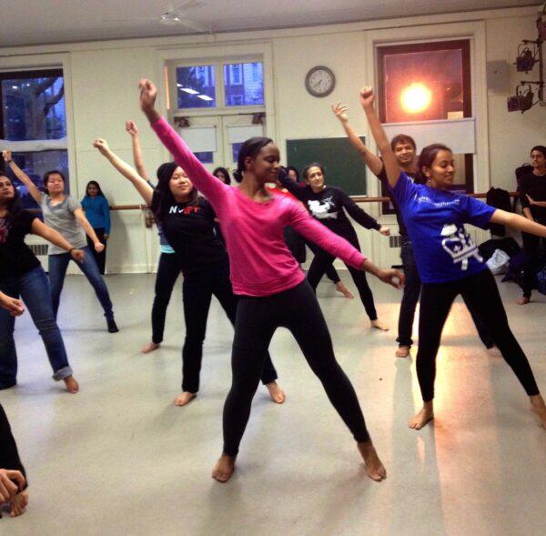 Ajna Dance Rehearsal