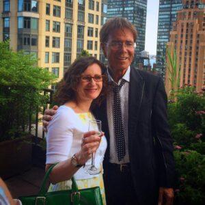 Julie-Ann & Sir Cliff