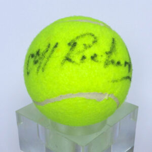Signed Cliff Tennis Ball
