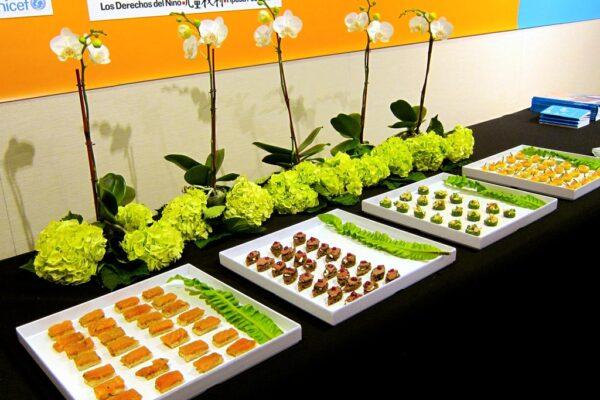 CRC @ 25 Reception Food