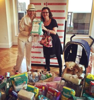 JAM and Michael-Ann with donations
