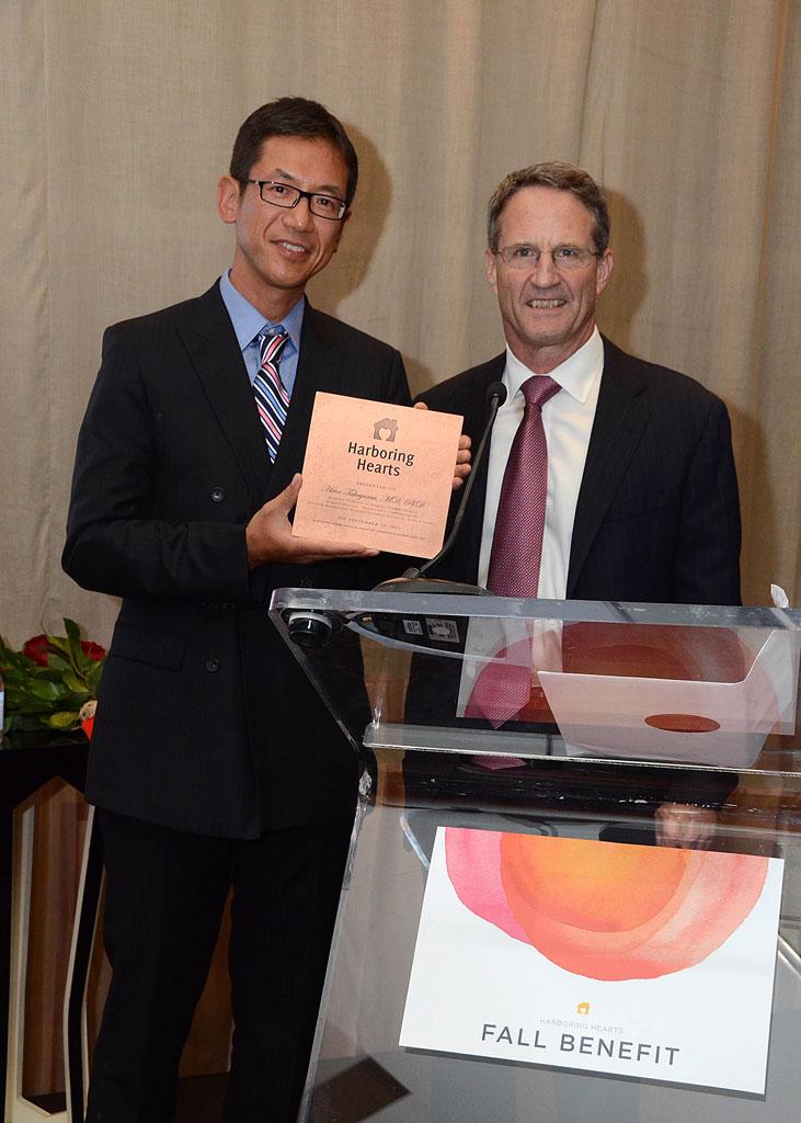 Hiroo Takayama and Dr Craig R Smith