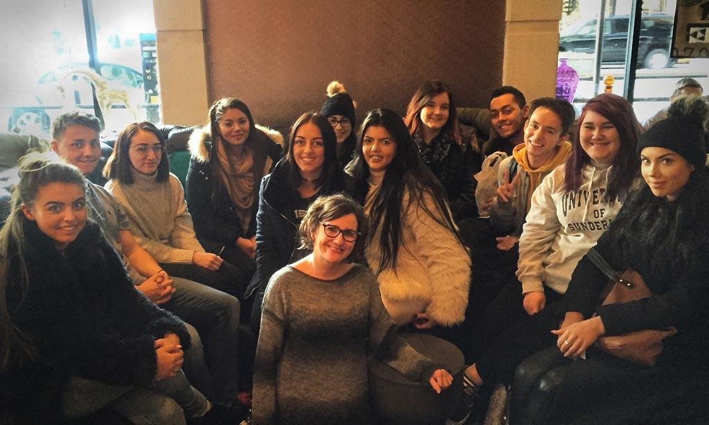 Sunderland University Students & JAM - NYC 2017 Visit