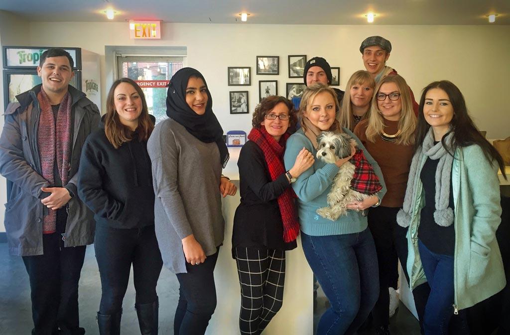 Sunderland University Students & JAM - NYC 2016 Visit