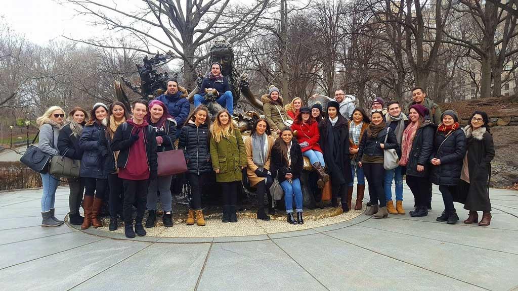 Sunderland University Students - Central Park NYC