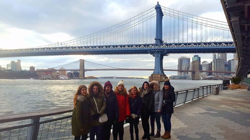 Sunderland University Students - East River NYC