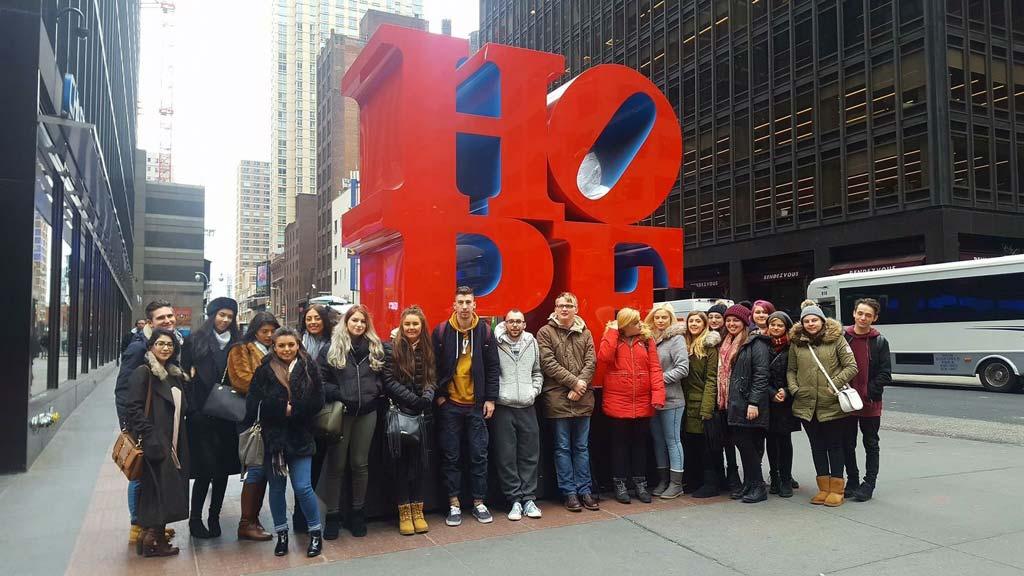 Sunderland University Students - HOPE NYC