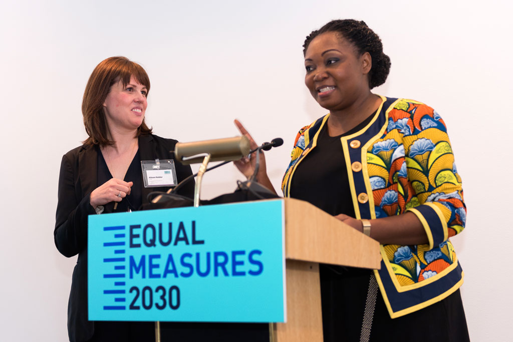 Alison Holder and Nnenna Nwakanma Equal Measures 2030