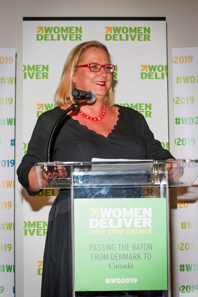 Katja Iversen from Women Deliver