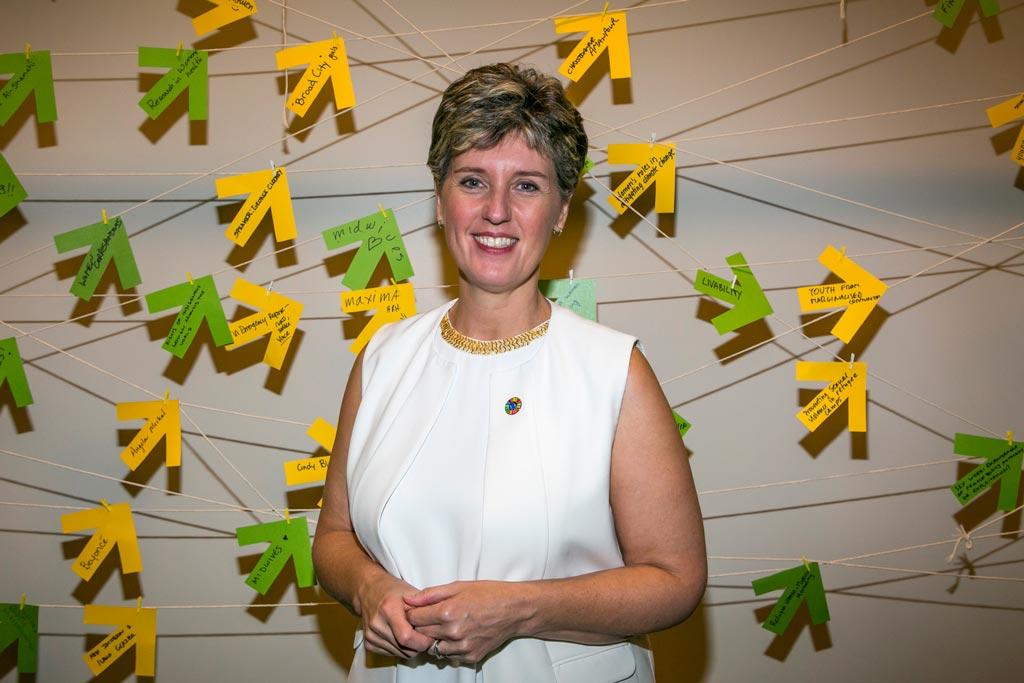 Minister Bibeau & the Ideas Wall