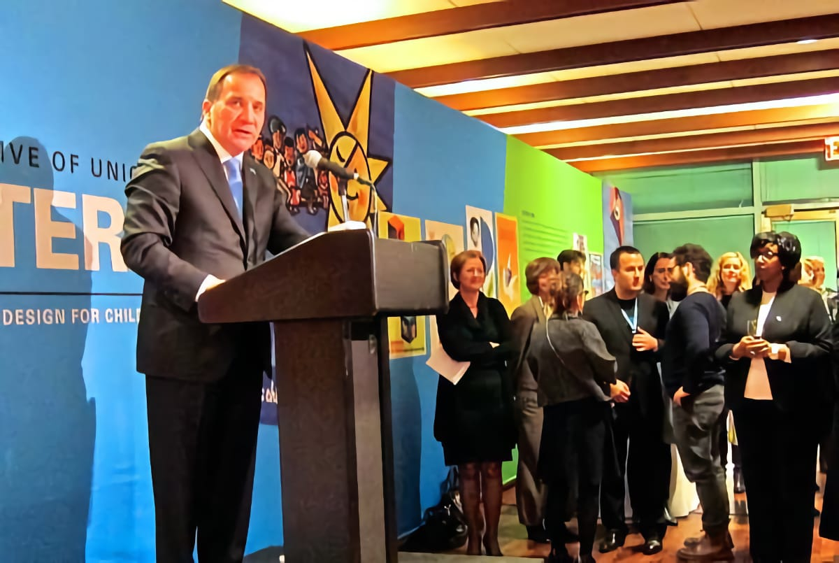 CRC@25 Reception for the Prime Mnister and Queen of Sweden