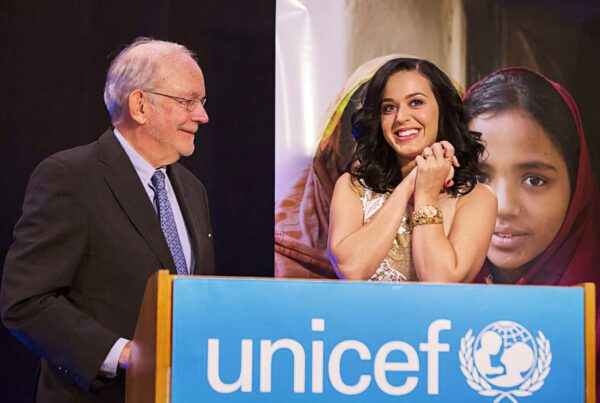 Katy Perry at UNICEF
