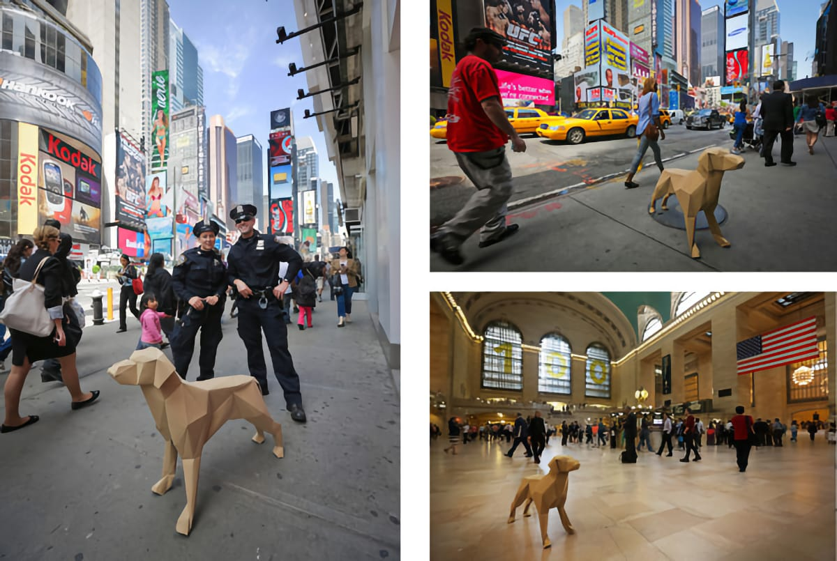Gerald NYC montage | Times Square & Grand Central Station