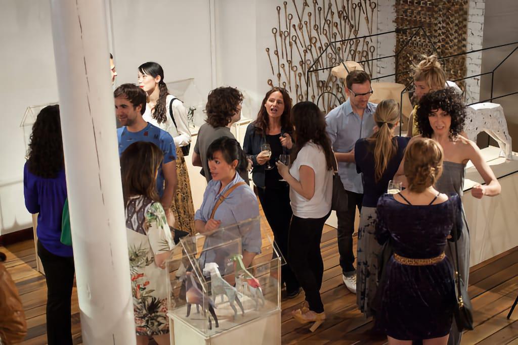 Gerald Exhibition Guests