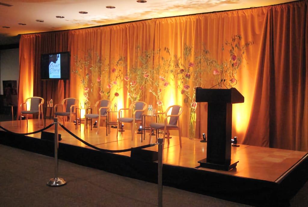 Jenna Bush Book Launch Stage